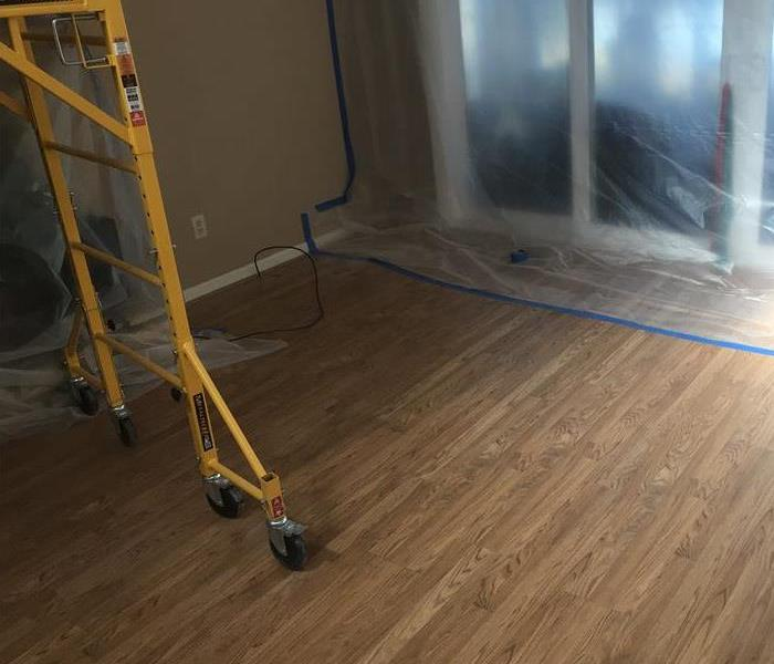 Commercial Water Damage - Pittsboro, NC After