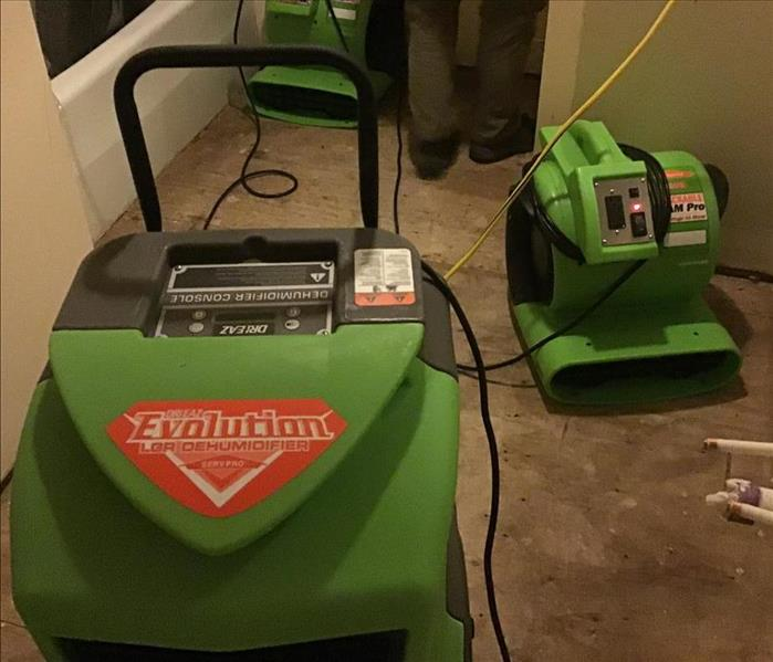 Water Damage Pittsboro Properties, Water Loss, and Yeah for SERVPRO!!